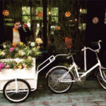 Bike flower shop