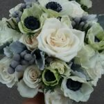 bridal-bouque-silver-brunia-roses-anemonies