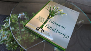 study book in European floral design